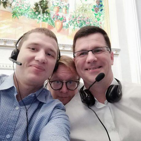 Allan Kleynhans синхронные переводчики Lingvo Moscow