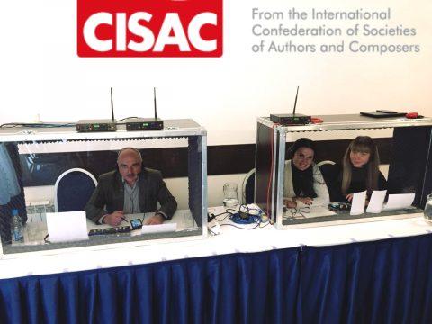 Синхронный перевод для CISAC | Бюро переводов Lingvo Moscow
